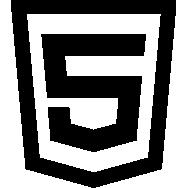 Vektorisiertes HTML5 Logo